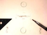 オーダー 結婚指輪 デザイン画