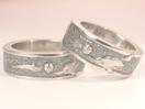 結婚指輪 海