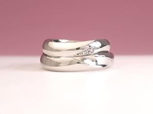 結婚指輪 オーダー デザイン画