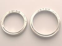 結婚指輪 オーダー 彫