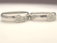 結婚指輪 デザイン画