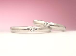 結婚指輪 オーダーメイド シンプル